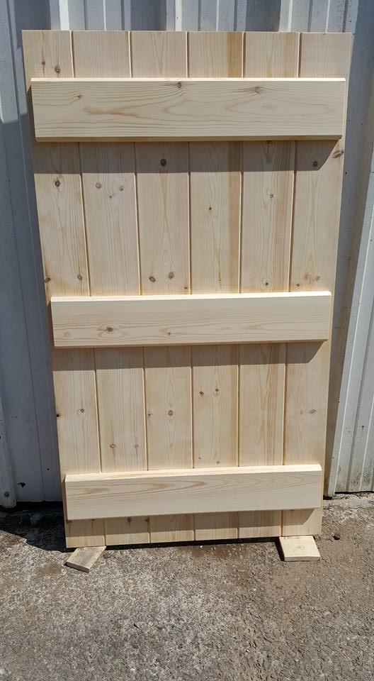 Pine Ledged Doors & Pine Ledged Doors - Appletree Joinery