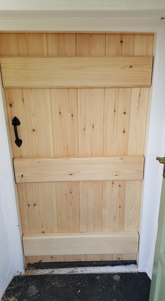 Pine Ledged Doors & Pine Ledged Doors - Appletree Joinery